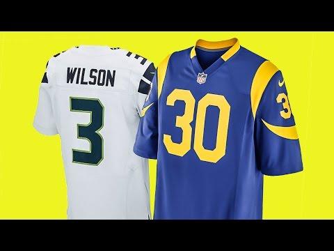 NFL TRIKOT: Unterschied Game und Limited Jersey - Größe, Nummern, Schnitt