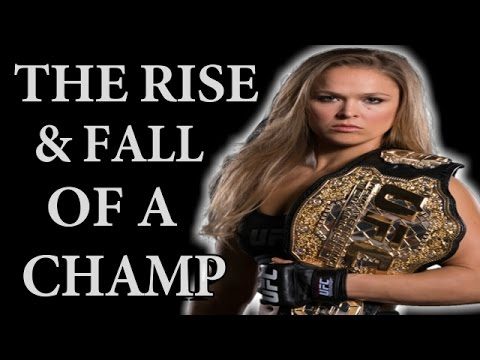 The Rise And Fall Of Ronda Rousey