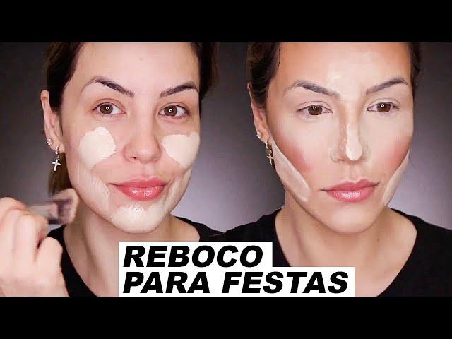 MAKE DE RESPEITO PARA COMBINAR COM TUDO - CASAMENTO, FORMATURA, FESTAS... - Bruna Malheiros