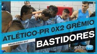Confira os bastidores da vitória do Grêmio sobre o Atlético-PR, na 2ª rodada do Campeonato Brasileiro. As imagens são exclusivas da GrêmioTV. Imagens: Juares...