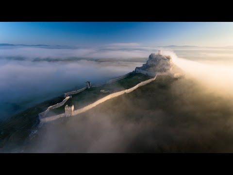 Treba vidieť: Nádherné VIDEO Spišského hradu, z ktorého budete mať zimomriavky