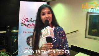 Anuradha Sriram Speaks at The Launch Of Rahman Ungaludan