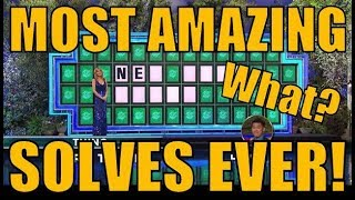 Video 😲😲 [WHEEL OF FORTUNE]'s MOST AMAZING SOLVES EVER!😲😲 MP3, 3GP, MP4, WEBM, AVI, FLV September 2018