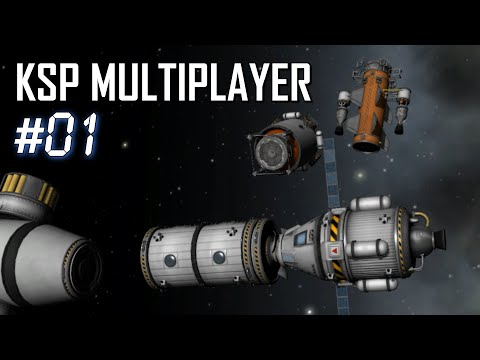KSP Multiplayer: Ep1 - Co-op Station Creation