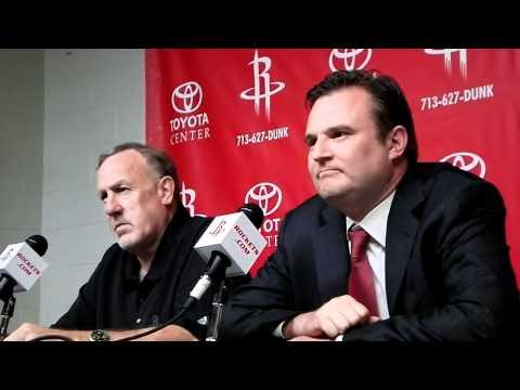 Rockets GM Daryl Morey speaks on Brad Miller injury
