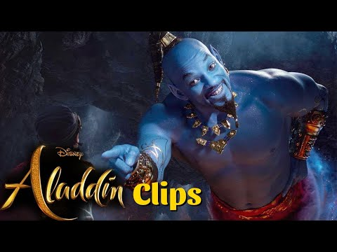 Jinnie Clips From Aladdin Movie in HINDI