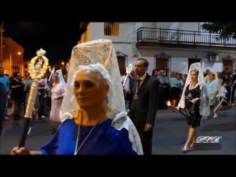 Procesión de  Ntra. Sra. del Rosario de Isla Cristina 2016