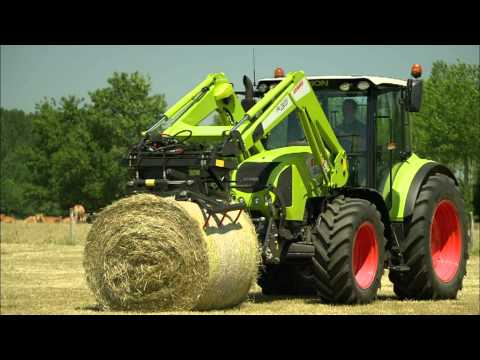 arion - One for all -- the ARION 400. In developing the ARION 400, CLAAS has met the challenge of adapting the technology of the top performance classes to meet the ...