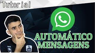 Mensagens para whatsapp - INCRIVEL ! Funcionalidade PERMITE o WHATSAPP colocar MENSAGEM AUTOMÁTICAS