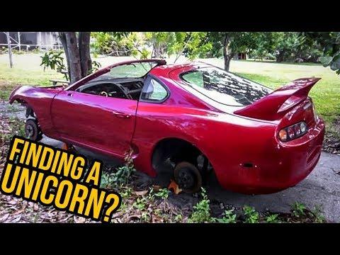 Can You Still Find A Super Cheap MKIV Toyota Supra?- Ask Tavarish Ep 1 (видео)