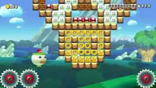 Try Not To Touch The Mushrooms! by Broken... - Super Mario Maker - No Commentary