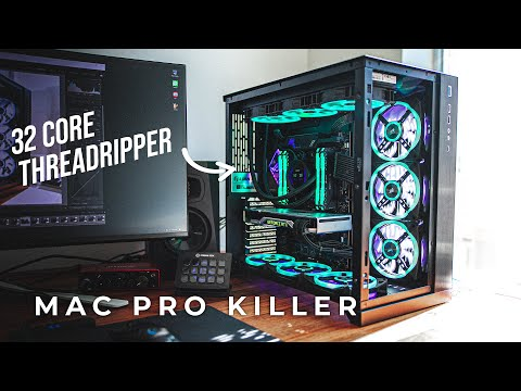 Ultimate Workstation PC Build! Threadripper 3970X