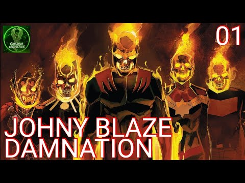 DAMNATION 01 | EVERY HERO IS GHOST RIDER | ComicBook Universe