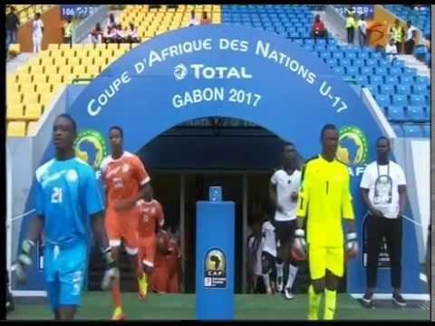 Ghana vs Niger - African U.17 Championships semi final