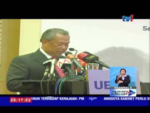 TAN SRI DR AHMAD TAJUDDIN PANTAU PRESTASI SEKOLAH BERPRESTASI TINGGI/ KLUSTER [4 JUN 2015]