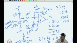 Mod-03 Lec-08 Temperature Indicator Design Using Op-amp