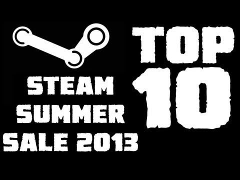 Top 10 Games of Steam Summer Sale 2013