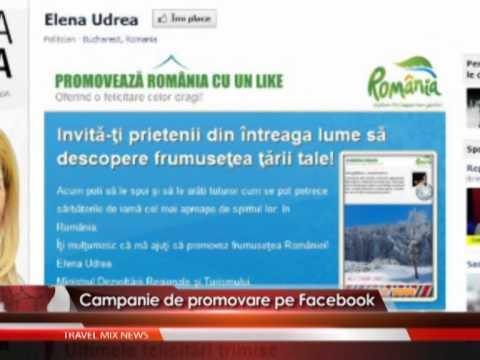 Campanie de promovare pe Facebook.