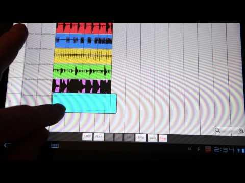 Video of ReLoop Loop DAW