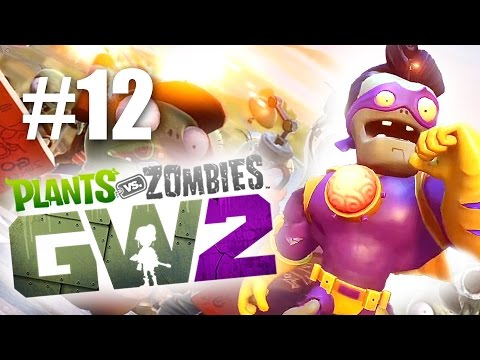 СУПЕРМОЗГ! #12 Plants vs Zombies: Garden Warfare 2 (HD) играем первыми