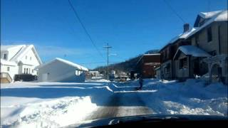 Weston (WV) United States  city photo : Weston, West Virginia, Jan 24th 2016...Day after historic Snowstorm 2016. A Quick Look around.