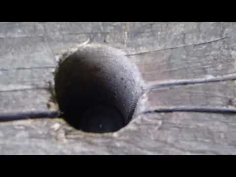 Rifle Range bullet holes cache ! Geocaching Adventure Vlogger UK