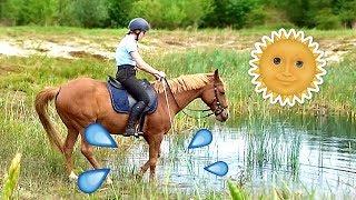 Durft mijn pony het water in?   Vlog #52 Video