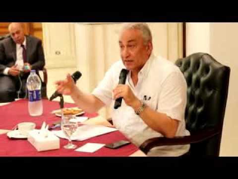بالفيديو..إجتماع النقيب بالمحامين الشباب