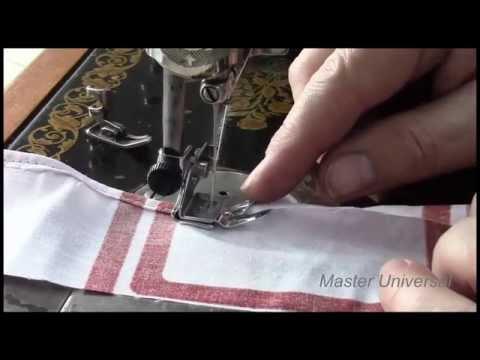 Как сделать нитку на швейной машинке