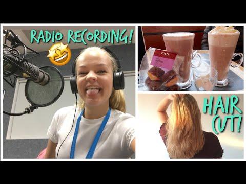 Hair cutting - Radio Recording & Cutting My Hair off!~lush leah