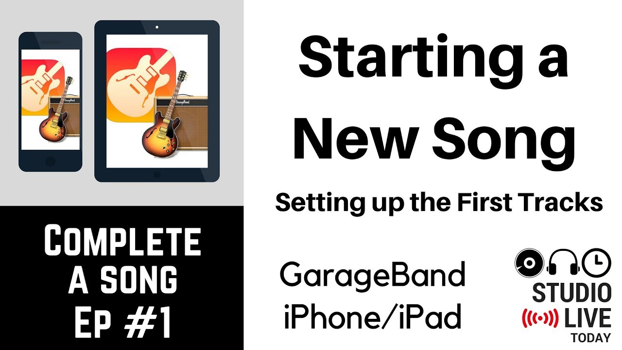 Recording Guitars in GarageBand iOS – Electric & Bass (iPhone/iPad) – Complete-a-Song – Episode 8
