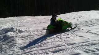 1. Arctic Cat zr120 jumps