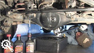 10. Rear Differential Oil Change