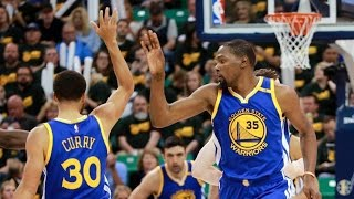 Kevin Durant Flagrant! Draymond Green Technical From Bench! Warriors Jazz Game 3