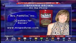 CALIFORNIA CHROME'S FAVORITE: MRS. PASTURES COOKIES