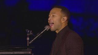 download lagu download musik download mp3 John Legend performs Beauty and the Beast at 25th anniversary of Disneyland Paris