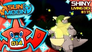 SUPER RARE SHINY KANGASKHAN!! Quest For Shiny Living Dex #115   Pokemon Sun and Moon Shiny #14 by aDrive