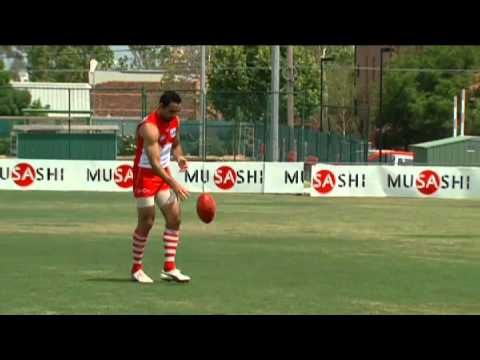 AFL Skills Guide - 8.Bouncing