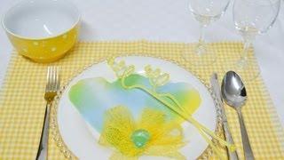 فن تزيين المائدة - 30 مطبخ منال العالم
