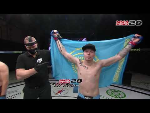 MMA SERIES-20 Highlights - Andrey Vorobiev (Russia) - Konstantin Cherednichenko (Kazakhstan)