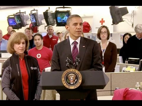 President Obama at Red Cross