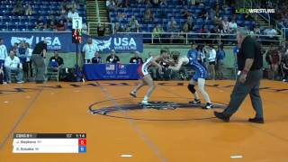 Cadet WM 106 Cons 8-1 - Jaine Stephens (KY) vs. Gwendolyn Golueke (WI)