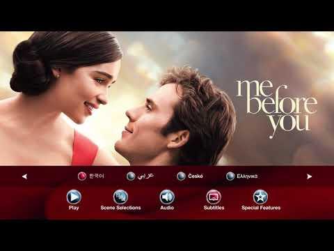 Me Before You(2016) Blu-ray Menu