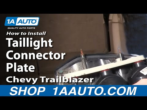 How To Install Repair Replace Taillight Connector Plate Chevy Trailblazer 02-09 1AAuto.com