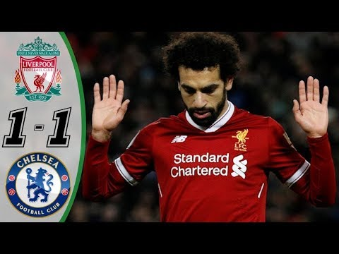 Liverpool Vs Chelsea 1-1 - Highlights & Goals 26 November 2017   YouTube