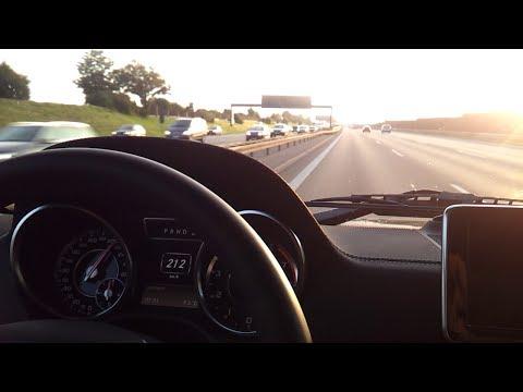 Mercedes G63 AMG on german roads