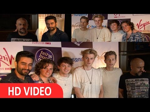 UNCUT - Meet On Beliya With UK Band The Vamps Featuring Vishal Shekhar