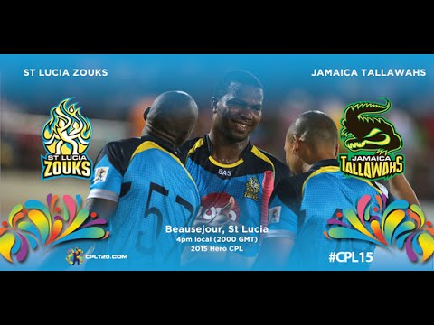 St Lucia Zouks vs Guyana Amazon Warriors, CPL, 2015 - Highlights