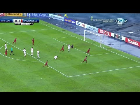 Indonesia vs Iran U16 (2-0) Full Highlights (English Commentary) - AFC Cup U-16 2018 Grup C