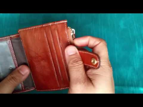 Mini card coin wallet фото